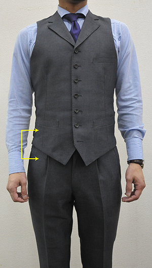 着丈とパンツ丈のオシャレな長さを知って ...