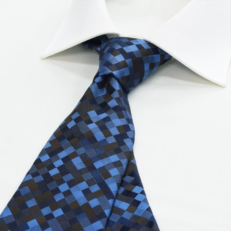 ZN6-6006 ブルー×ブラウン モザイク