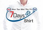 新登場 7DAYS Shirts