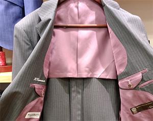 Inside the suit