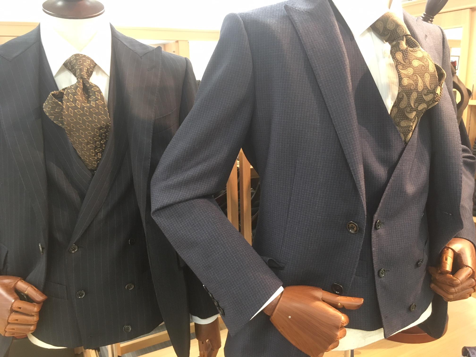 スーツのボタン!!
