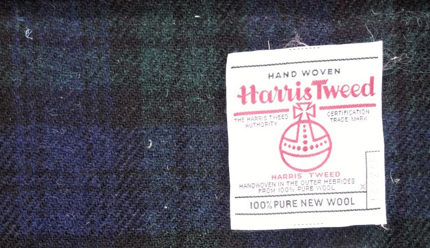 Harris tweed pattern