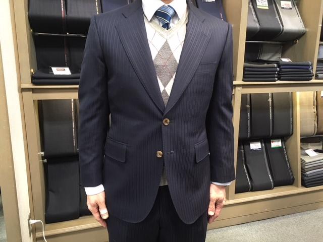 お客様のスーツが出来ました