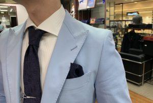 スーツが完成しました!