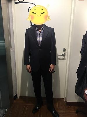 お客様のオロビアンコスーツ完成しました!