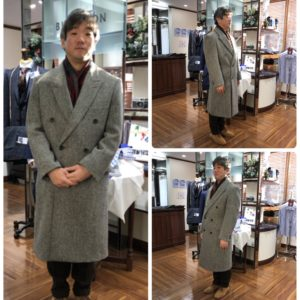 Harris Tweed order coat