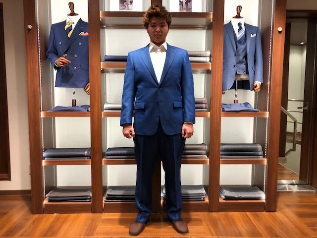 卒業式用スーツ ♪初めてのオーダースーツ♪