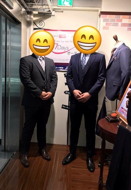 お客様スーツご紹介♪♪