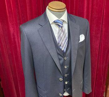 成人式のスーツ