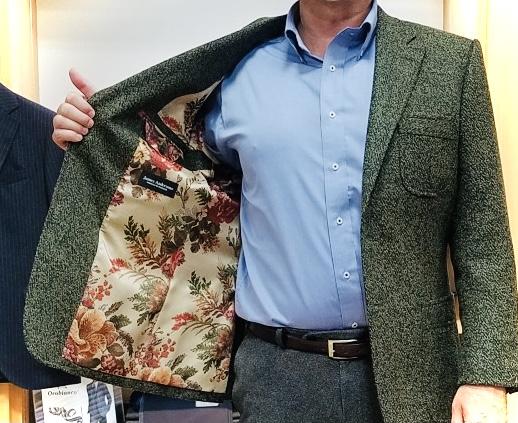 お客様のジャケット仕上がりました✨