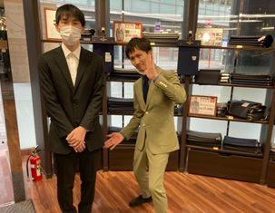 入学式スーツ仕上がりました!