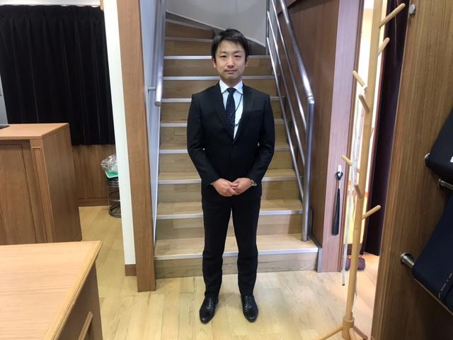 お客様ご紹介! ブラックスーツ