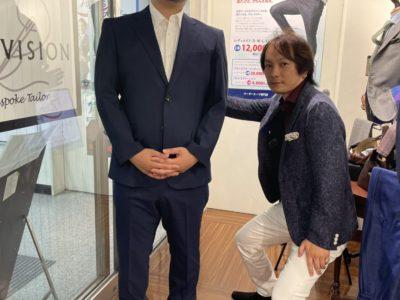 ご新規のお客様スーツ紹介!!