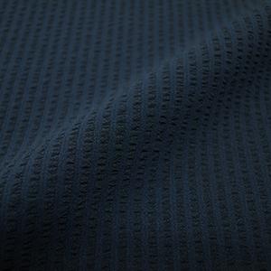 エバレット 紺ストライプサッカー2ピース・メンズ