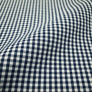 エバレット 紺×白ギンガムチェック2ピース・メンズ
